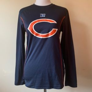 Mens NFL Chicago Bears Long Sleeve Shirt Size S